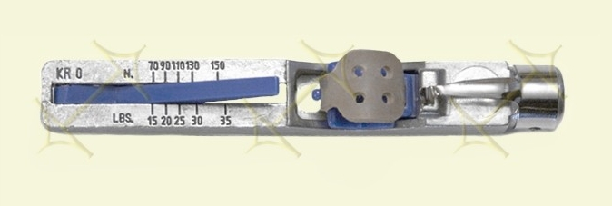 how to use a krikit belt tension gauge